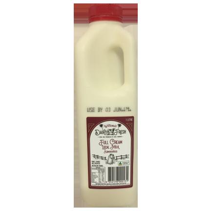 Whitsunday Dairy Fresh 1 L full Cream Milk