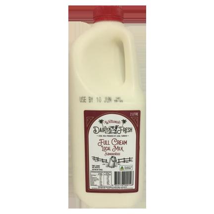 Whitsunday Dairy Fresh Full Cream Milk 2L