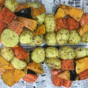 Seasoned Roast Veggies